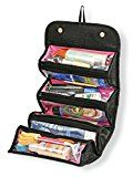 Roll N Go Cosmetic Organizer New Arrival Best Selling Premium Quality Lowest Price Roll Up Travel Kit Buddy Storage Bag Pouch Case for Cosmetics Jewellery Toiletries Hair Accessories Medicine & Stationery Keep Things Organized Safe & Protected Compact Stylish Practical Compact Convenient Handy Save Space Foldable Durable Portable Washable Multifunctional Soft Flexible Ideal for Travelling Camping Hiking School & College Picnics Stay Overs For Men Women Boys & Girlsby Premsons1461% Sales Rank…