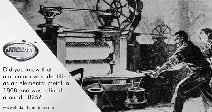 Did you know that aluminium was identified as an elemental metal in 1808 and was refined around 1825?  In fact before, it was considered to be more luxurious than gold and was more expensive! #AluminiumFacts #JindalAluminiumLimited