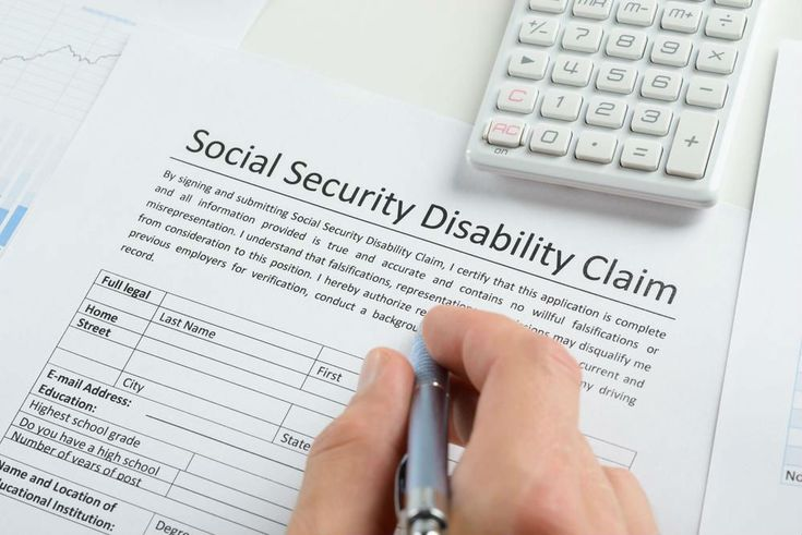 There are no partial disability benefits offered from Social - social security disability form
