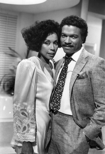 Diahann Carroll and Billy Dee Williams…the Dynasty years.