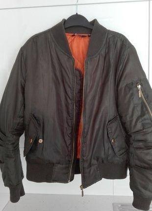 Kup mój przedmiot na #vintedpl http://www.vinted.pl/damska-odziez/kurtki/14465013-bomber-jacket-bomberka-khaki-new-look-m