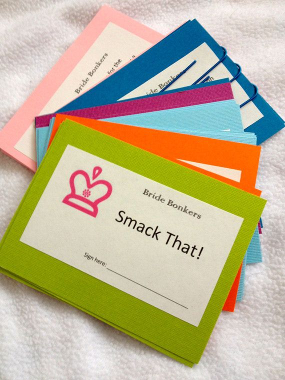 Bachelorette Party Game Rainbow Delight by brandeschiller on Etsy, $10.00
