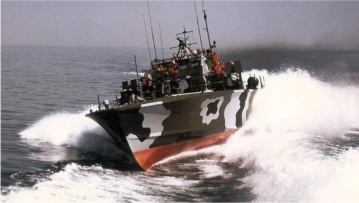 The Deltic diesel powerplants were being used in Nasty class PT boats well into the Vietnam War.