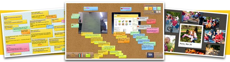 Free Online Linoit Digital Display Board- great for collaboration and has many classroom uses!!