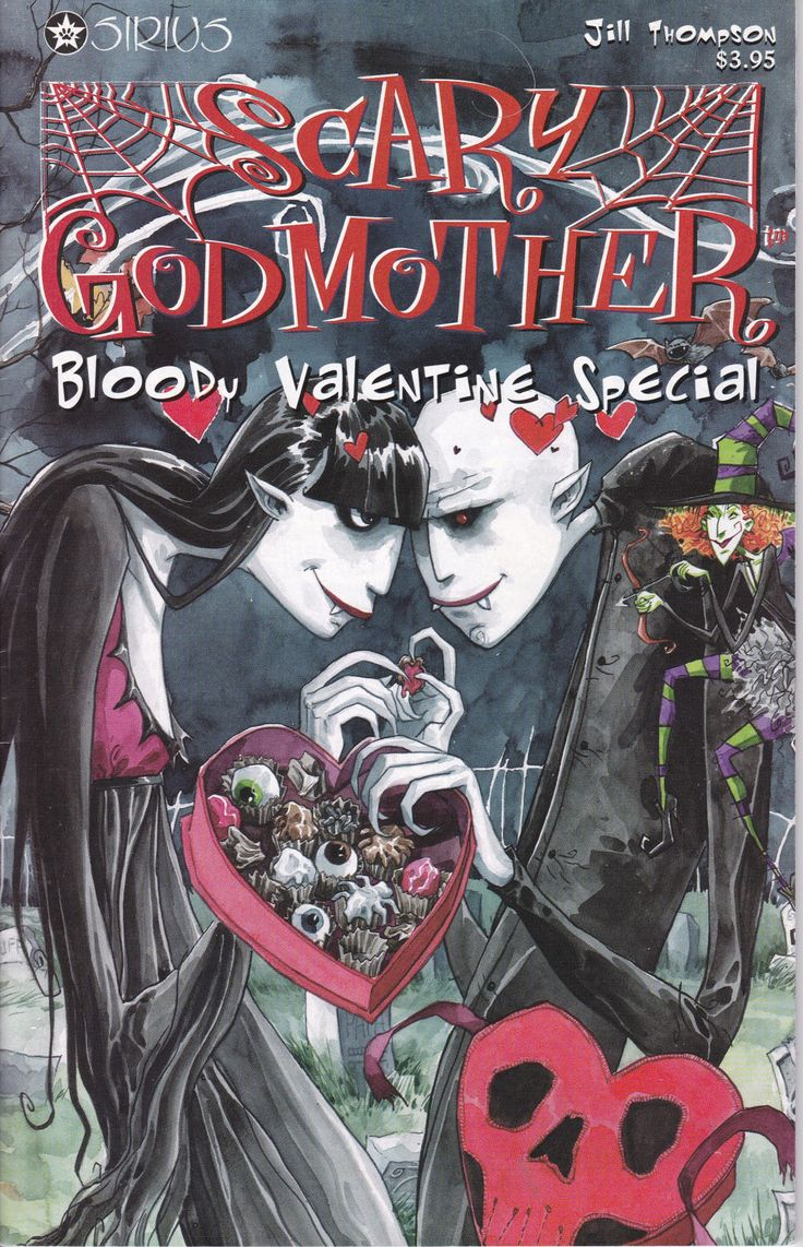 Scary Godmother Bloody Valentine Special #1, February 1998 Issue - Sirius Comics - Grade VF