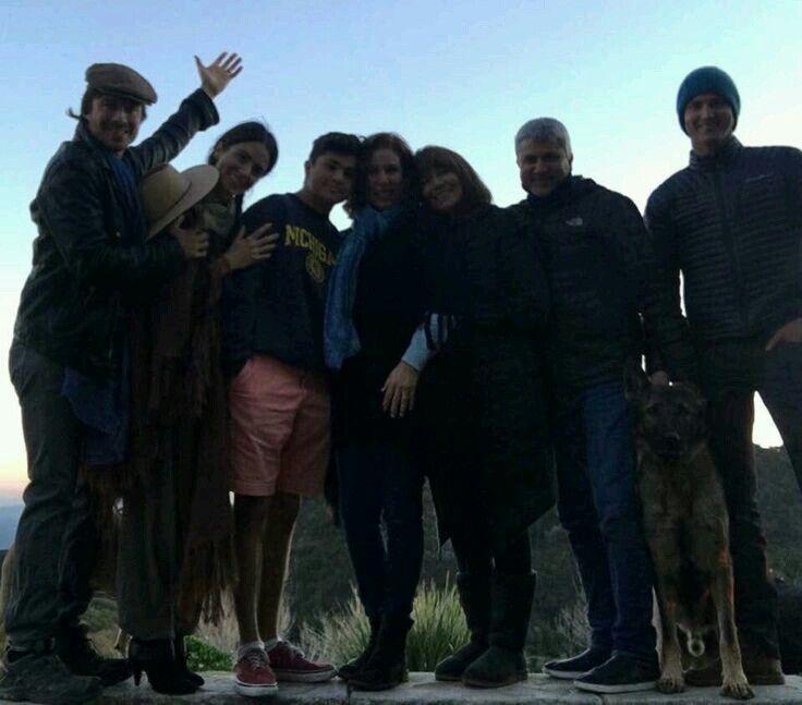 Ian Somerhalder - Reed family holidays (December 2015)