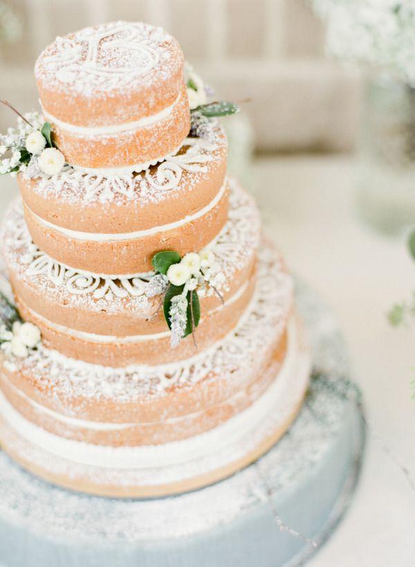 112 best naked wedding cakes images on Pinterest