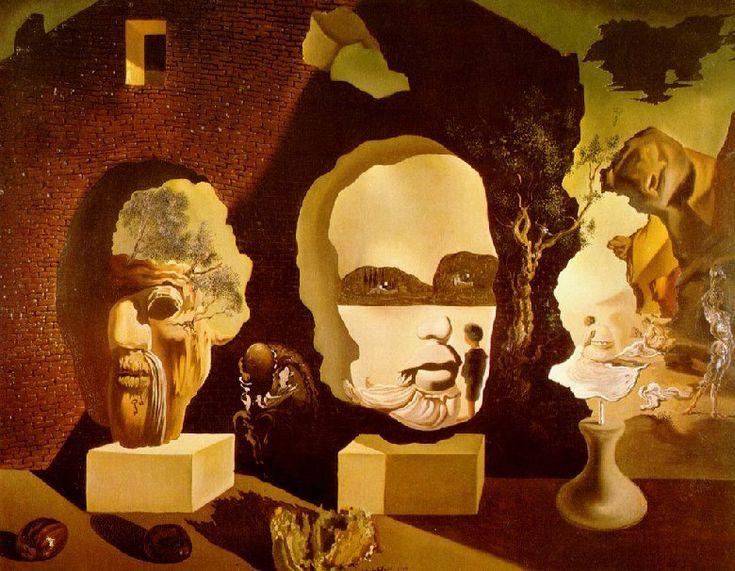Salvador Dali - Old Age, Adolescence, Infancy ('The Three ...