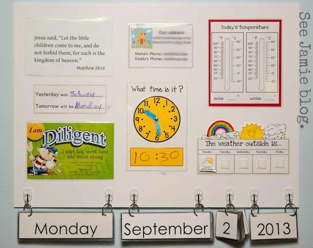 morning board - See Jamie Blog