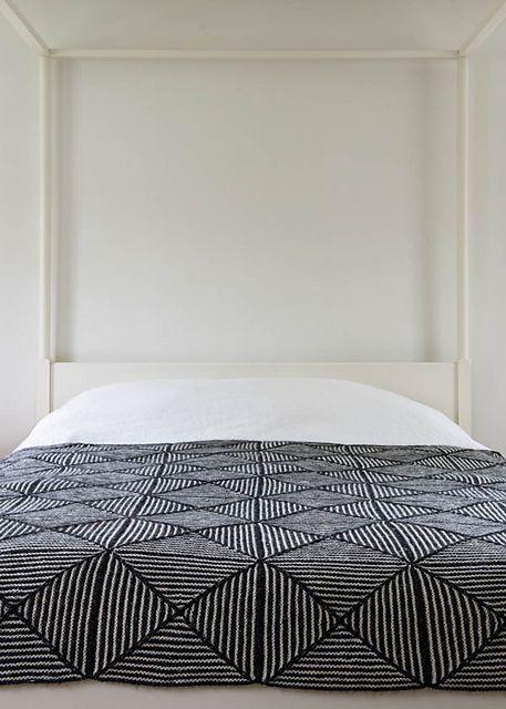 Ravelry: Optic Blanket pattern by Purl Soho