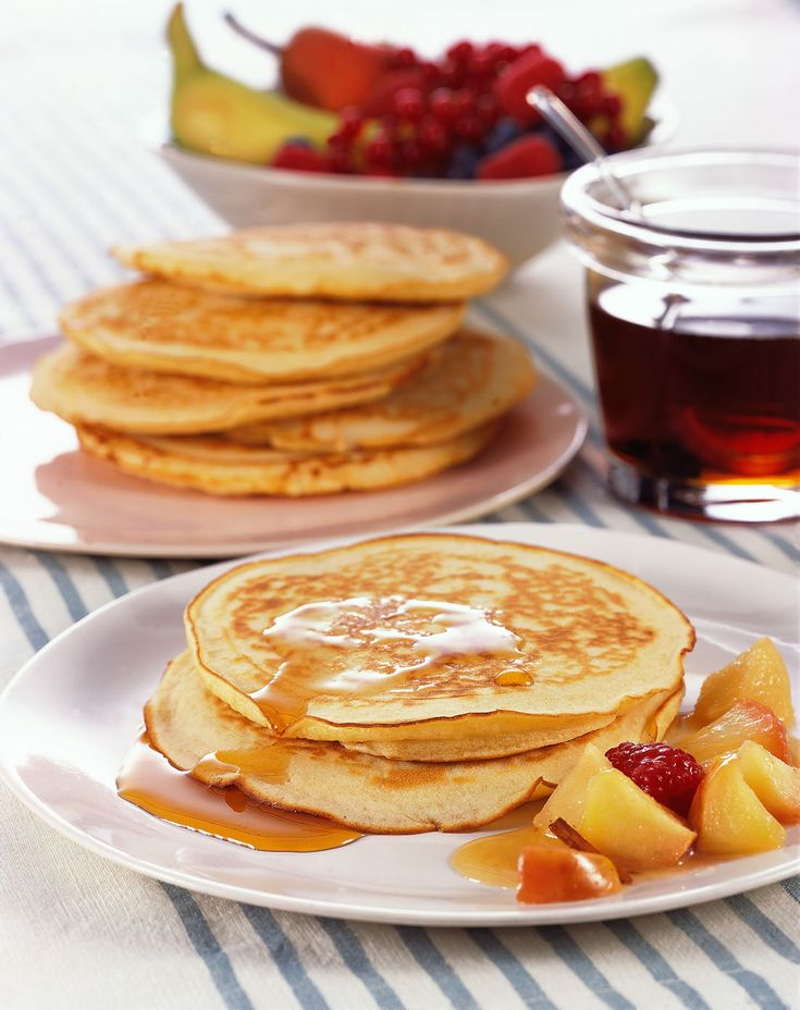 Grande classico delle colazioni americane, il pancake con sciroppo d'acero è anche una delizia assolutamente da importare. Prova la ricetta di Sale