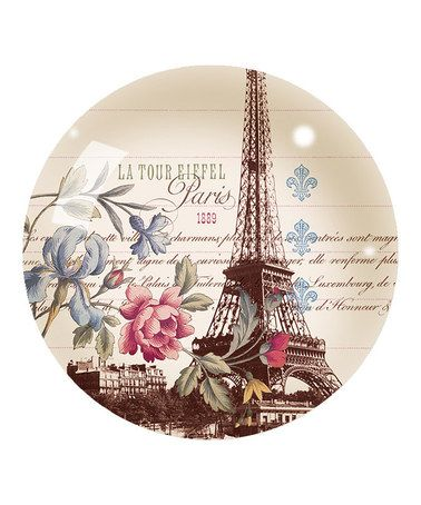 Look what I found on #zulily! La Tour Eiffel Glass Paperweight #zulilyfinds