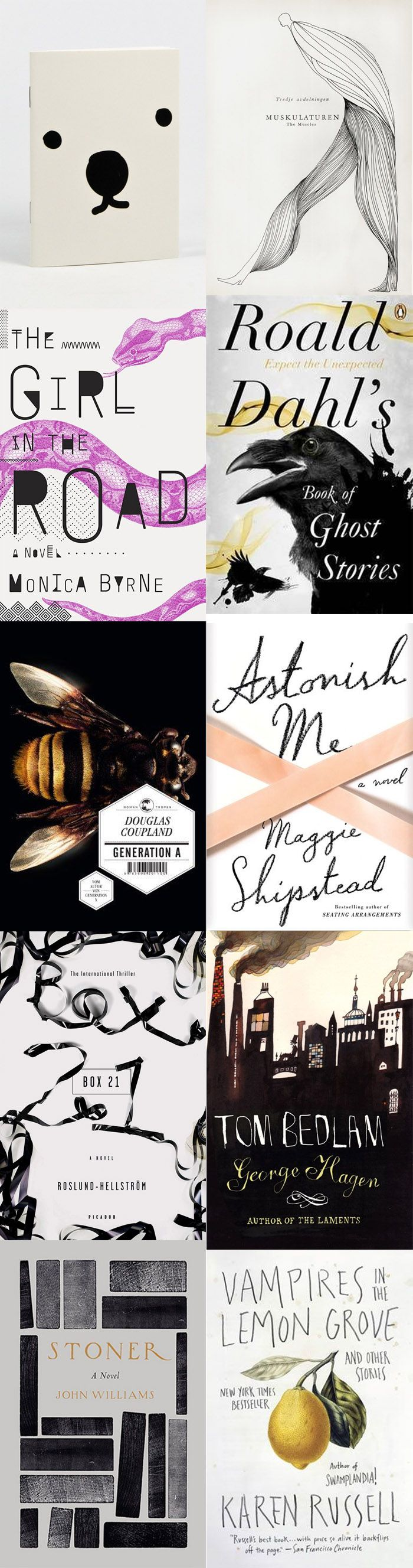 Book covers I love.