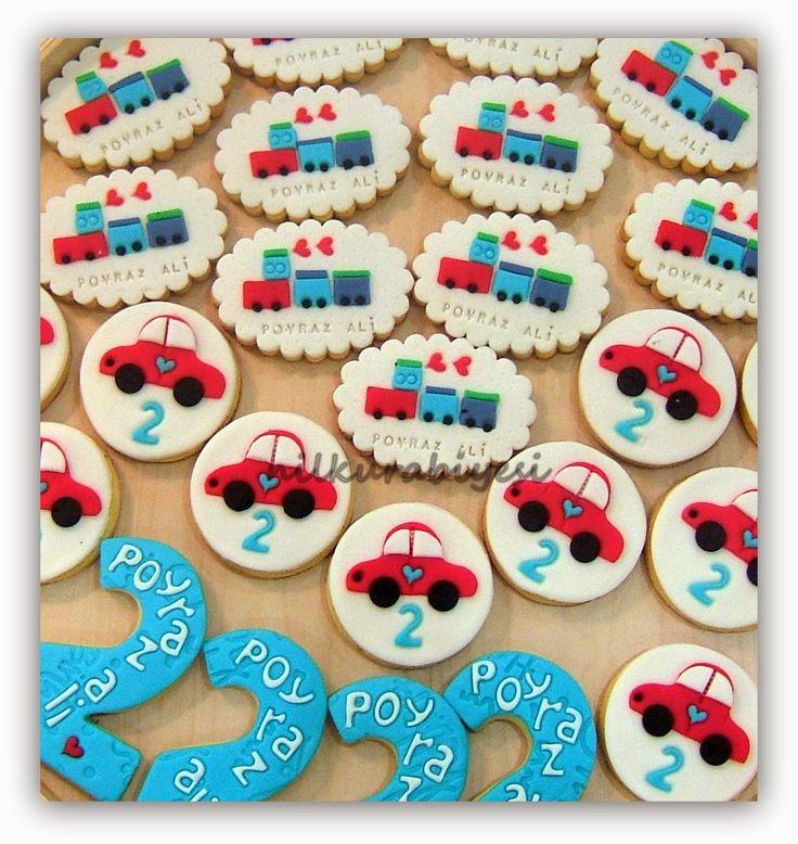 Nil Kurabiyesi: Poyraz Ali'nin doğum günü kurabiyeleri..yaş 2