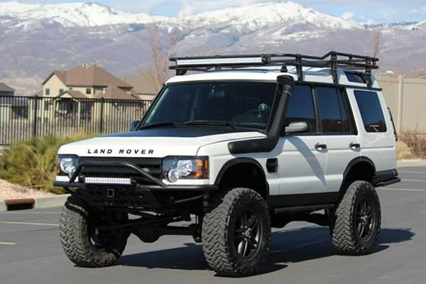 Land Rover Discovery. What i could of done to mine