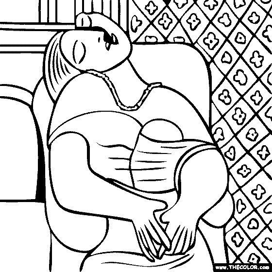 Pablo Picasso - La Rêve - The Dream