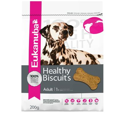 Win a bag of Eukanuba Healthy Biscuits