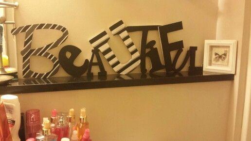 Word art. |Be yoU| Beautiful!