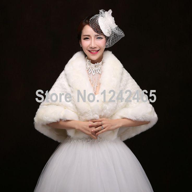 Barato Modelos de inverno de alta qualidade mais grosso para aumentar jaqueta de casamento Bolero xale…