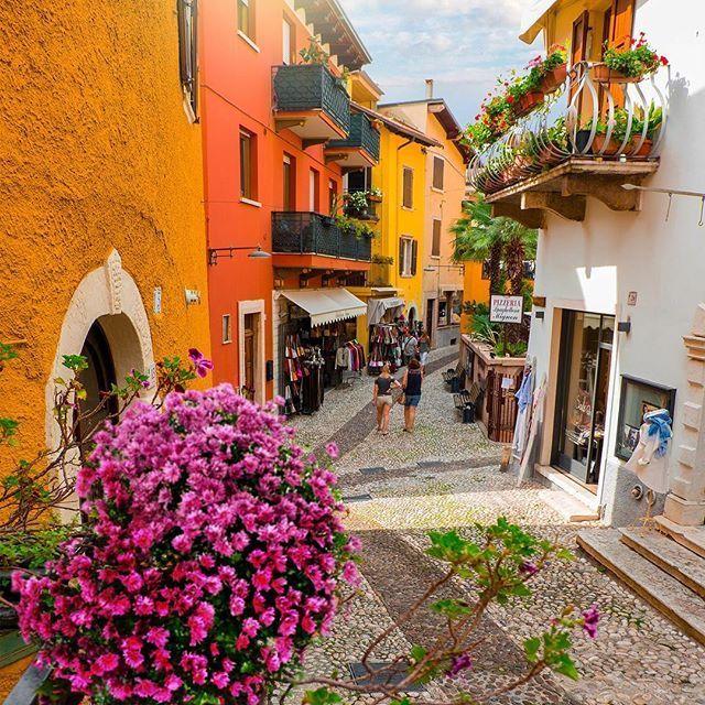 Malcesine, Lago di Garda. Italy.