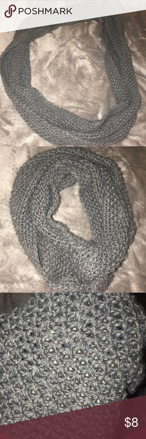 Chunky Knit Scarf Infinity Accessories Scarves & Wraps
