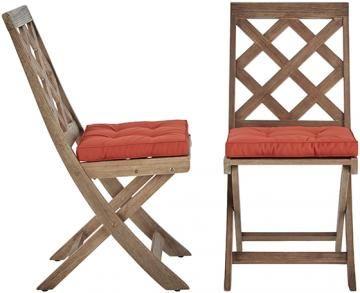 martha stewart living calderwood outdoor dining chairs set of 2