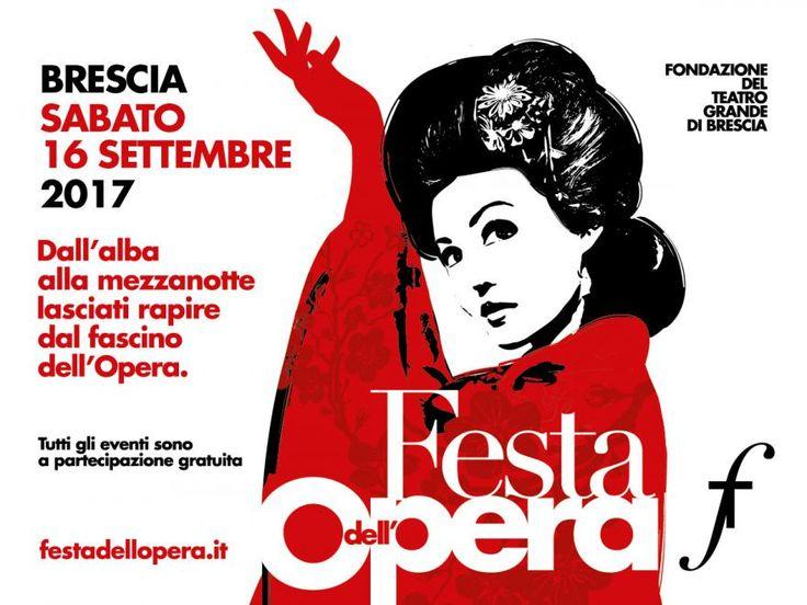 Brescia, Festa dell'Opera 2017. Sabato 16 settembre.