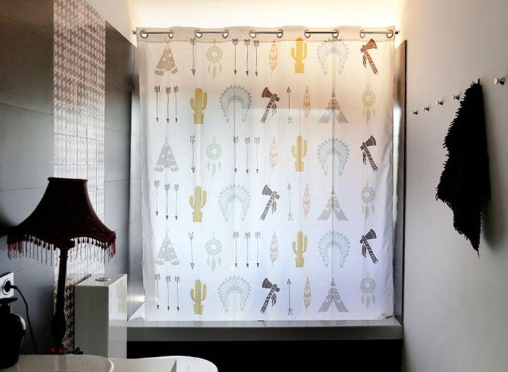 Las 25 mejores ideas sobre cortinas de ba o modernas en - Cortinas de ducha originales ...