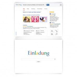 Hochzeitseinladungen als Suchmaschine  #hochzeit #einladungskarte #hochzeitseinladung #google #suchmaschine #einladung #papeterie #kartenmachende
