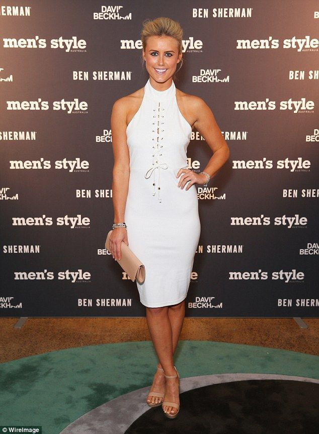Olivia Phyland at the Men's Style 2016 Men of Style event in Sydney