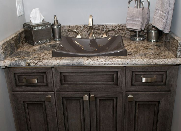 Stone Showcase  Hummelstown Kitchen with Typhoon Bordeaux Granite. 1000  images about Bathroom Countertops by Lesher on Pinterest