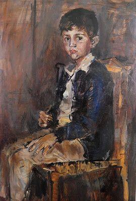 Los Mejores Pintores, Fotógrafos y Escultores de Colombia: Retrato de Marcos Oleo sobre cartón 100 X 70 Cm Juan Antonio Roda