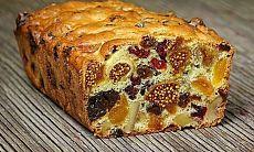 Полезный и невероятно вкусный кекс из сухофруктов