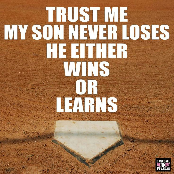 kids either win or learn | Sportin' Mama | Pinterest ...
