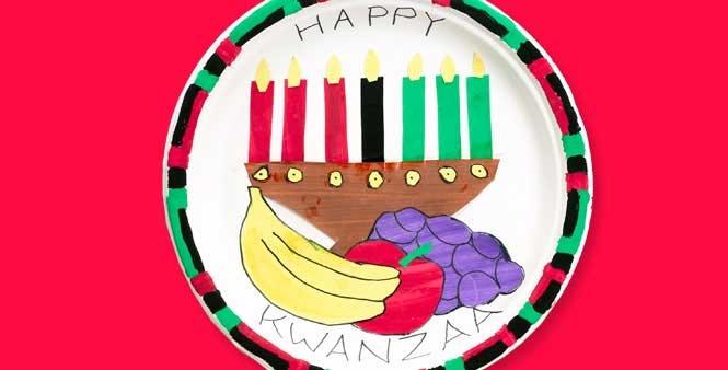 Kwanzaa Principles Plate