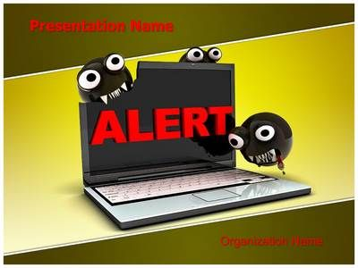 Computer Virus Powerpoint Template is one of the best PowerPoint templates by EditableTemplates.com. #EditableTemplates #PowerPoint #Computer Virus #Hacker #Alarm #Computer #Worm #Alert Sign #Business #Warn #Hazard #Virus Alert #Illustration #Anti-Virus #