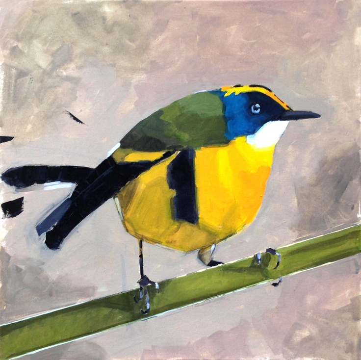 Yellow bird / acrylics on canvas / 2 ft x 2 ft / 2013  • Acrylics on canvas  • FREE SHIPPING, no matter where you are ;)  https://www.etsy.com/listing/128614148/yellow-bird?ref=shop_home_active