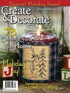 17 best images about a nice read on pinterest folk art for Create and decorate magazine free
