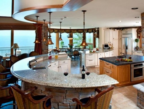 oval kitchen islands 11 best stylish oval kitchen ideas images on 1328