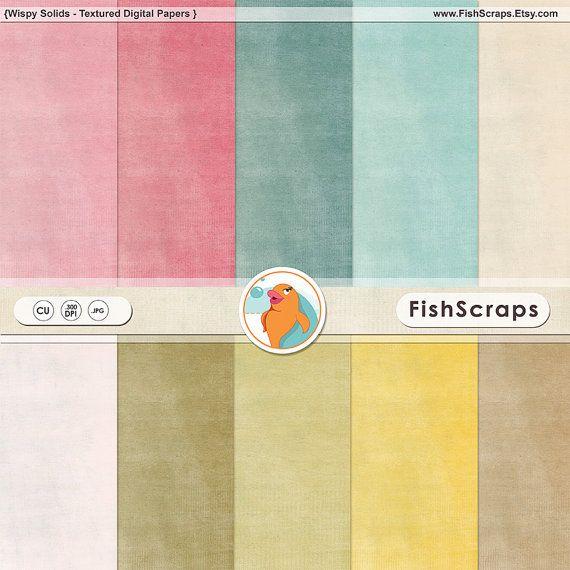 Texturierte Digital Karton  Hintergrund Papiere von FishScraps, $4.00