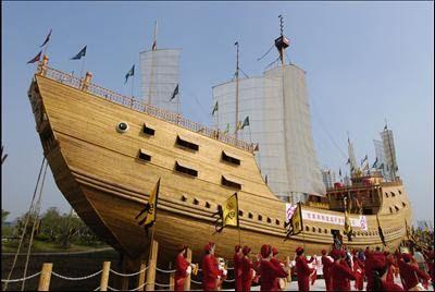 Zheng He, la Historia Oculta del Autentico Simbad el Marino.