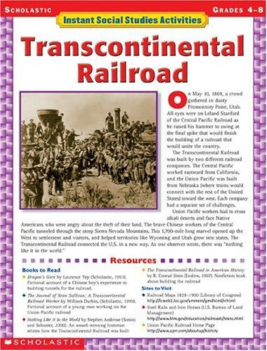 railroads and society essay The first two paragraphs of the essay railroads in the change in one aspect of our society often has a ripple a transcontinental railroad.
