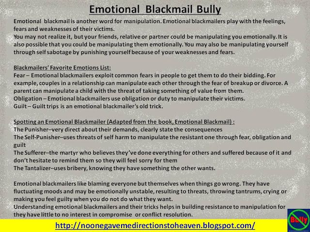 72 Best Emotional Blackmail Images On Pinterest Life Lesson Quotes