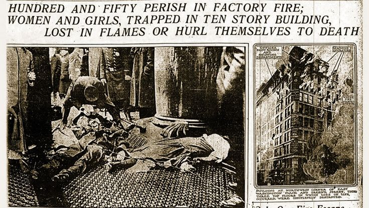 The Triangle Shirtwaist Fire was one of the worst industrial accidents in American history. Description from pinterest.com. I searched for this on bing.com/images