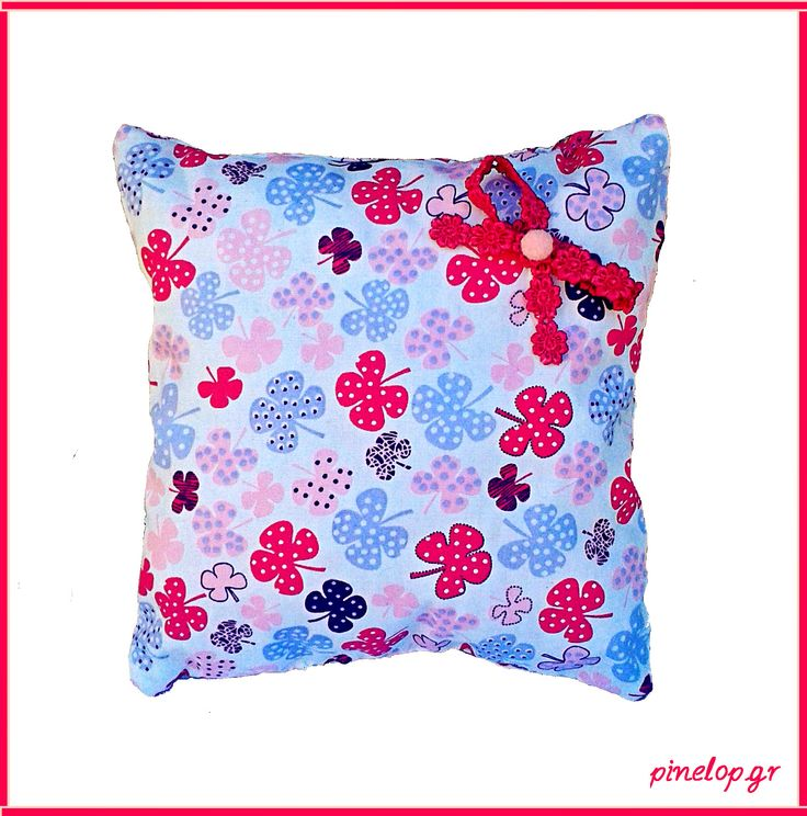 Handmade pillow for little girls!!