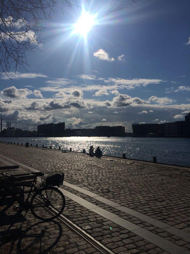 Wonderful Copenhagen ❤️ #islandsbrygge #waterfront