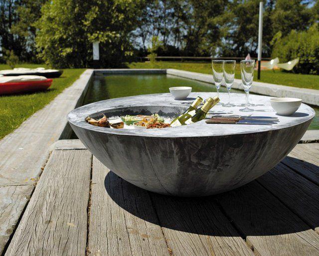 Zinc Table by Domani