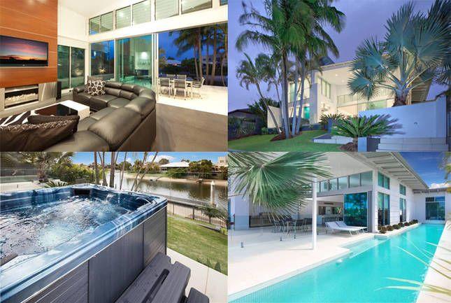 ACQUA BIANCO WATERFRONT LUXURY, a Broadbeach Luxury Waterfront Home | Stayz