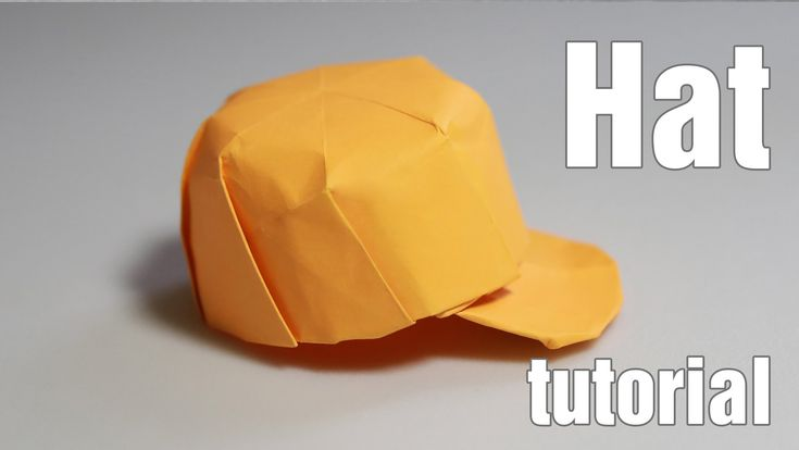How to make an origami hat - origami snapback (Henry Phạm)