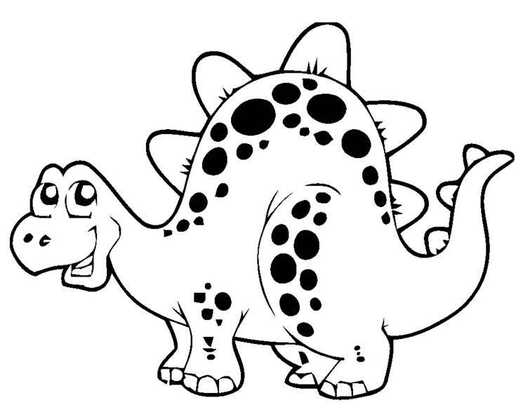 dinosaur coloring page for kids wallpaper httpbackgroundwallpapersco dinosaur